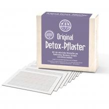 A Original Detox-Pflaster mit rein natürlichen Wirkstoffen wie Bambusessig, Baumessig, Turmalin und echtem Lavendel